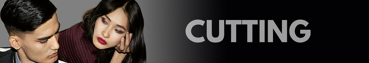 Banner showing the word Cutting